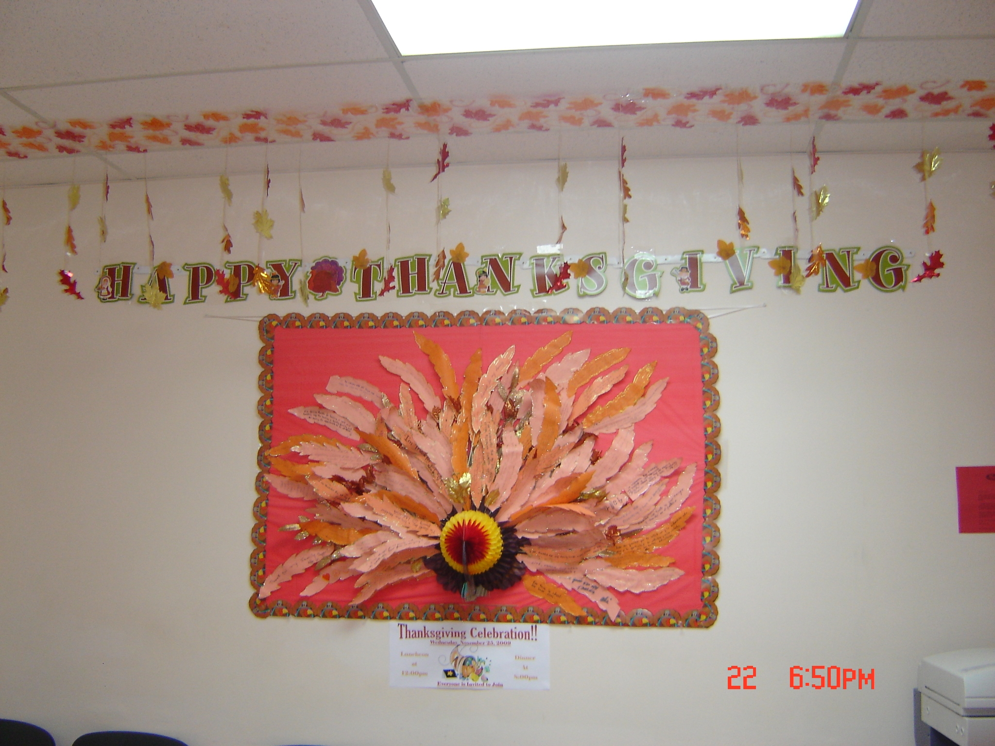FNC SGA Thanksgiving Turkey