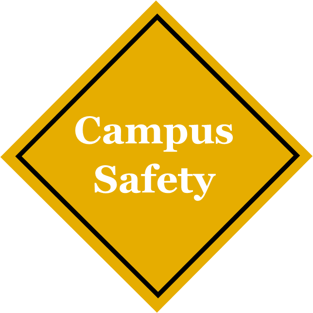 Safety Sign reading Campus Safety