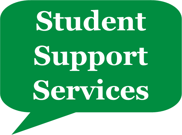 Thought Bubble reading Student Support Services