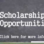 scholarship opportunities, chalkboard and whistle