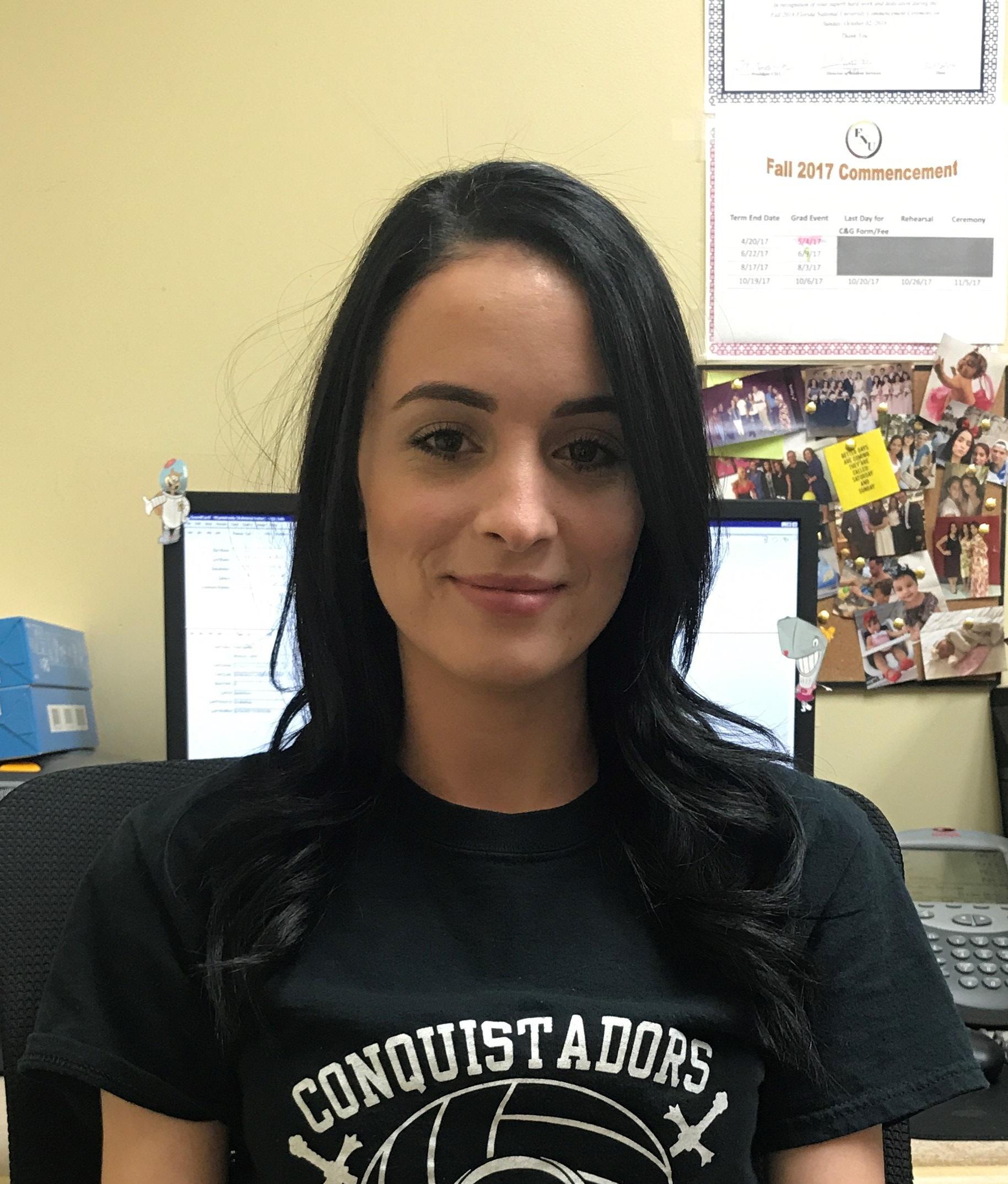 Yarlenis Gonzalez - Student Services Assistant