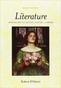 Literature: Approaches to Fiction, Poetry and Drama Textbook