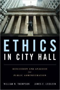 Ethics in City Hall Textbook