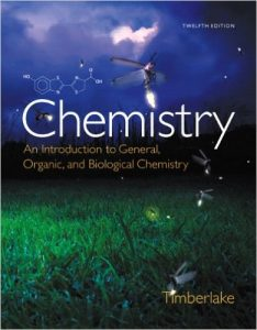 Chemistry: An Introduction to General, Organic, and Biological Textbook