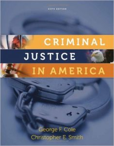 Criminal Justice In America Textbook