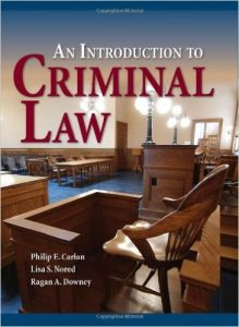 An Introduction to Criminal Law Textbook