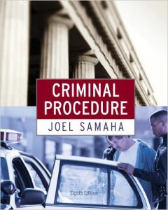 Criminal Procedure Textbook