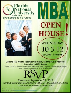 MBA Open House at FNU's Hialeah Campus