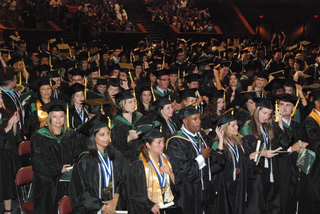 Graduates FNU Commencement Ceremony