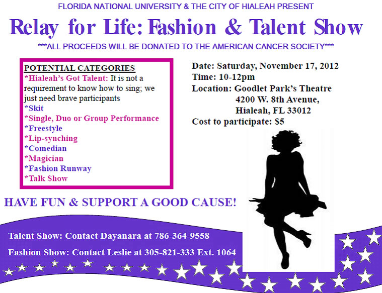 Relay for Life: Fashion & Talent Show