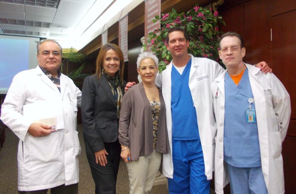 Dr Mora visits Florida National University