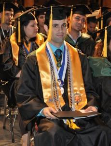 Florida National University Graduate Yusnier Gutierrez