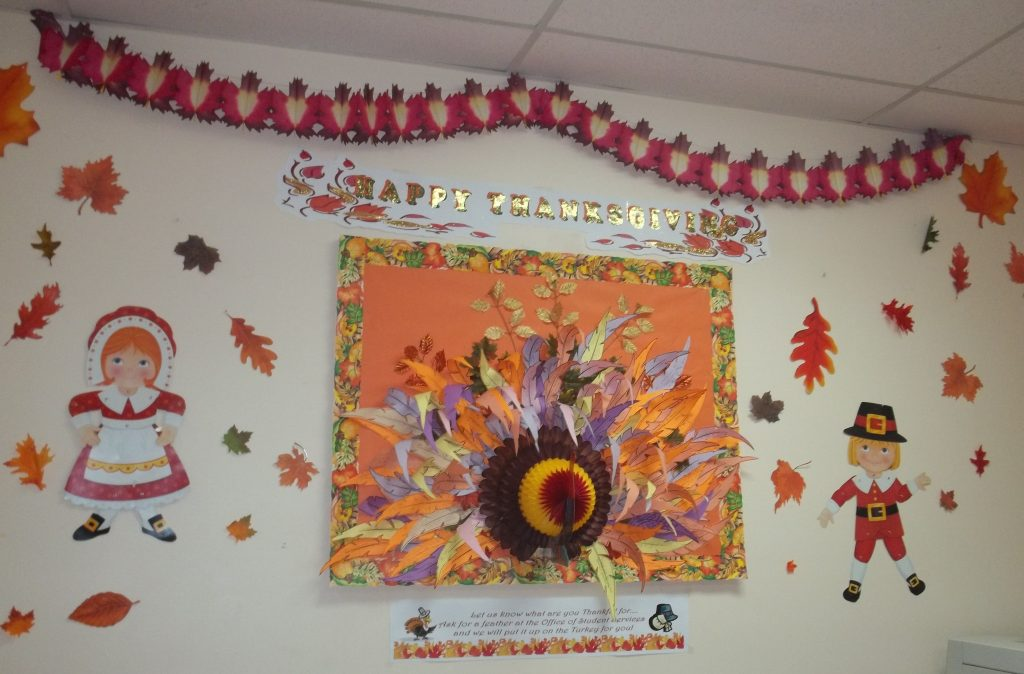 Turkey Wall at the South Campus