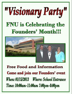 Founder's Month Visionary Party
