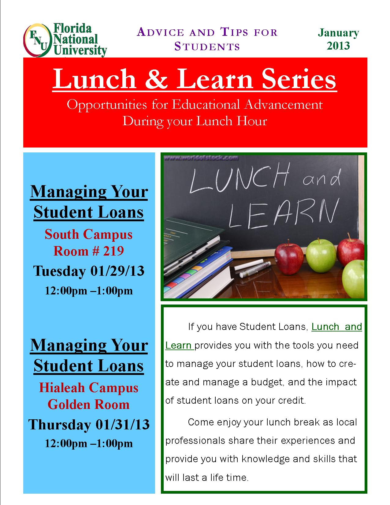 luncheon flyer template