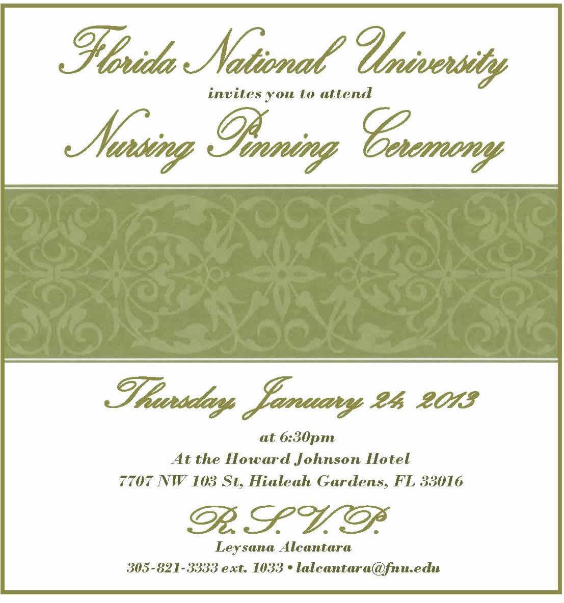 Nursing School Graduation Invitations with good invitations layout