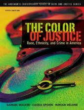 The Color of Justice Textbook Cover