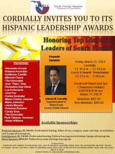 Hispanic Leadership Awards