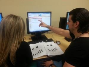 FNU students doing classwork