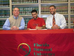 Christopher Miranda signs with FNU