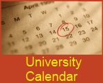 University's Calendar