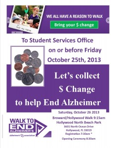 Walk to End Alzheimer's Flyer