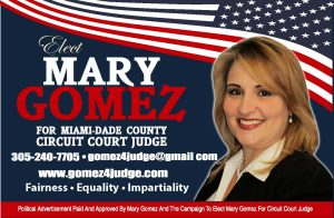 Campaign Ad for Mary Gomez