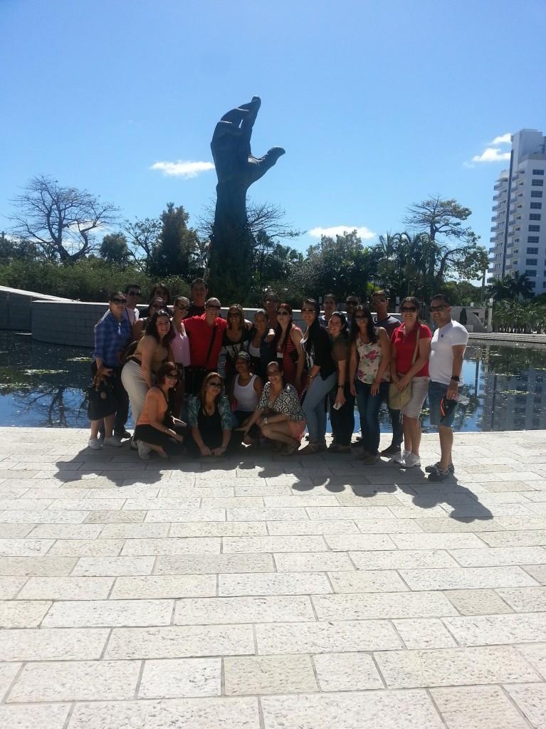 FNU Students Visit the Holocaust Memorial In Washington D.C.