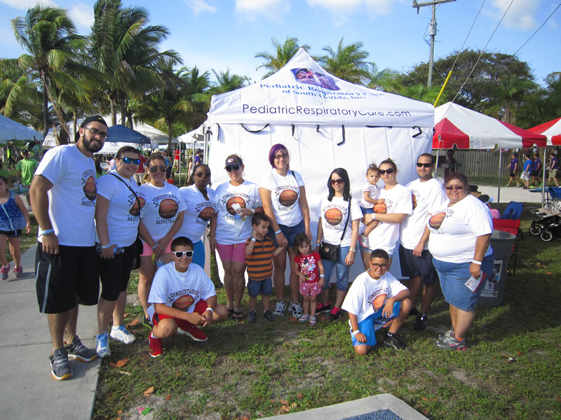 cystic fibrosis walk FNU students