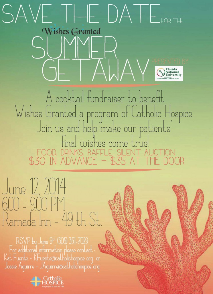 Wishes Granted Summer Getaway Flyer