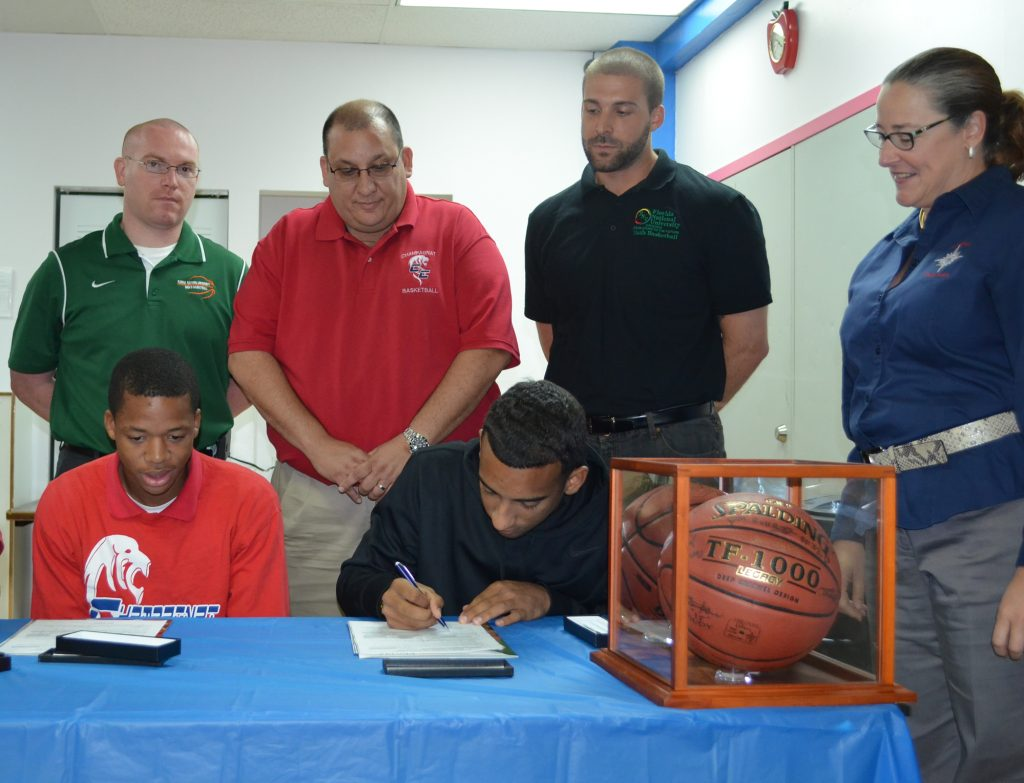 FNU Signs Champagnat Players