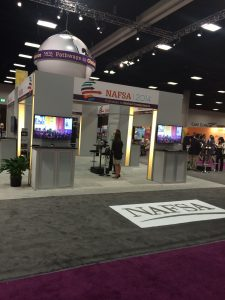 NAFSA booth