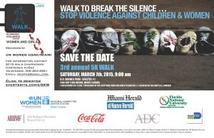 Walk to Break the Silence flyer