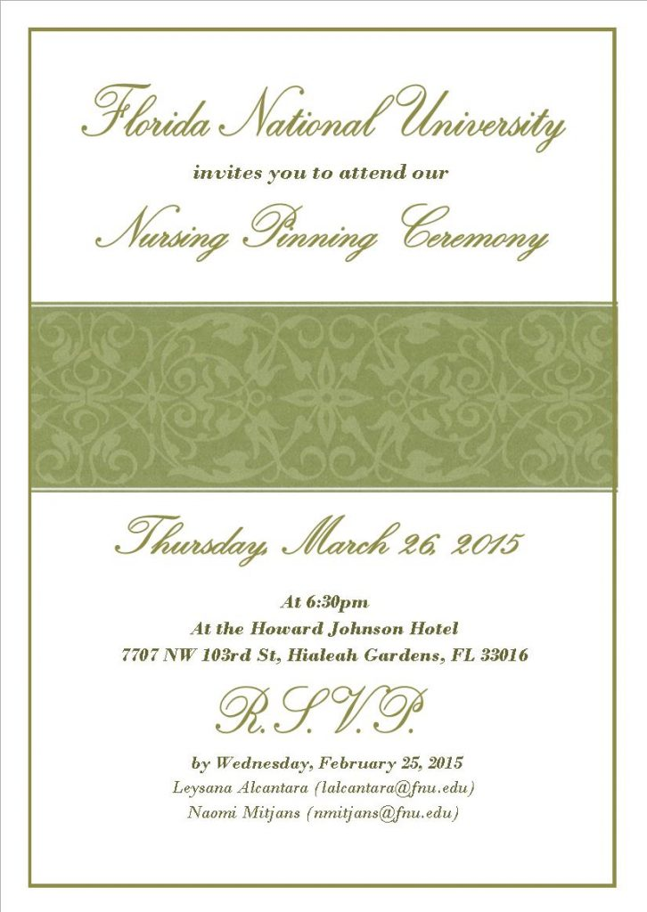 Pinning Invitation