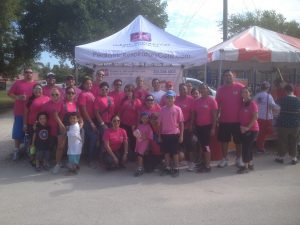 FNU Joins Cystic Fibrosis Walk