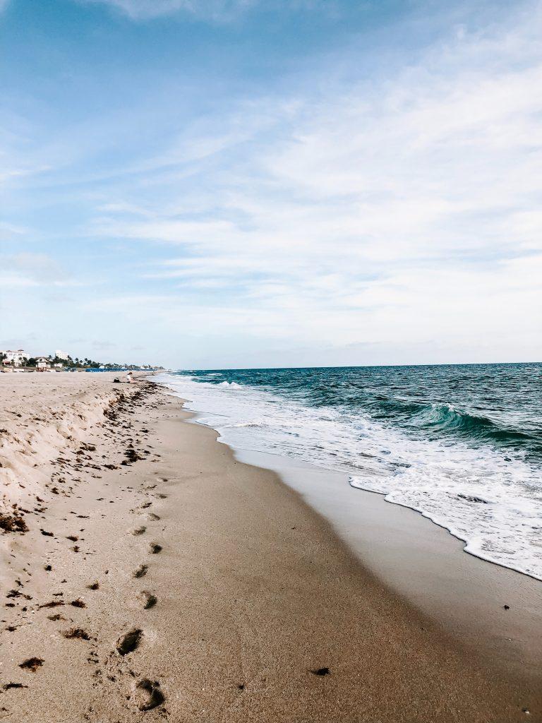 South Florida beaches.