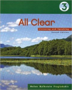 All Clear: Listening and Speaking Textbook