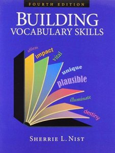 BUILDING VOCABULARY SKILLS COVER PAGE PICTURE