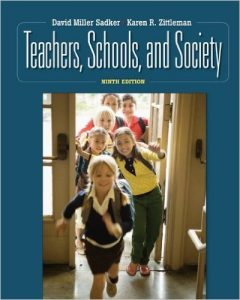 Teachers, Schools, and Society Textbook