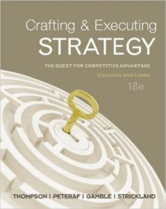 Crafting & Executing Strategy Textbook