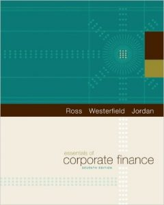 Essentials of Corporate Finance Textbook