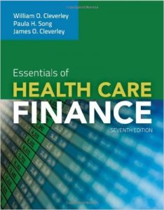 Essentials of Health Care Finance Textbook