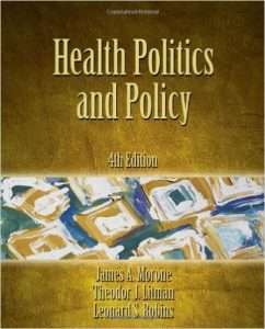 Health Politics and Policy Textbook