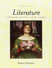LITERATURE APPROACHES TO FICTION , POETRY AND DRAMA COVER PAGE PICTURE