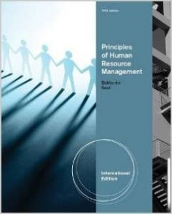 Principles of Human Resource Management Textbook