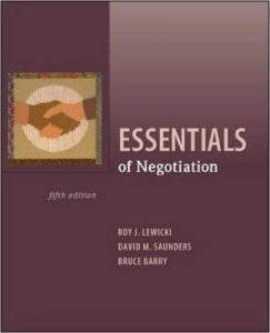 Essentials of Negotiation Textbook