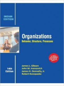 Organizations: Behavior, Structure, Processes Textbook