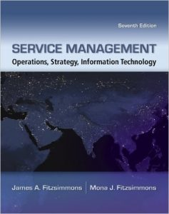 Service Management Operations, Strategy, Information Technology Textbook