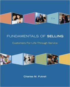 Fundamentals of Selling: Customers For Life Through Service textbook