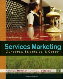 Services Marketing: Concepts, Strategies, & Cases Textbook